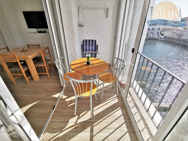 Apartment with canal view - Port Empuries area - Terrace