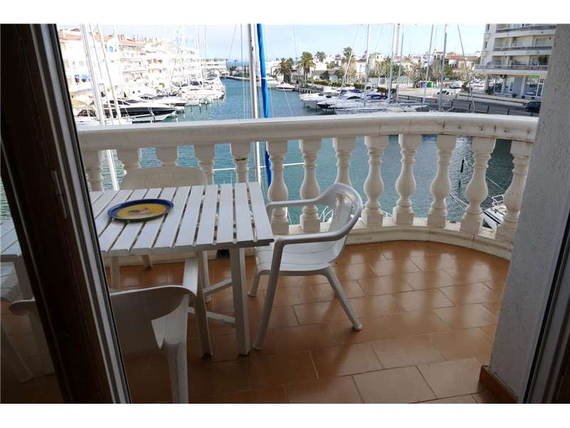 Apartment with canal/sea view - Cavall de mar area - Terrace