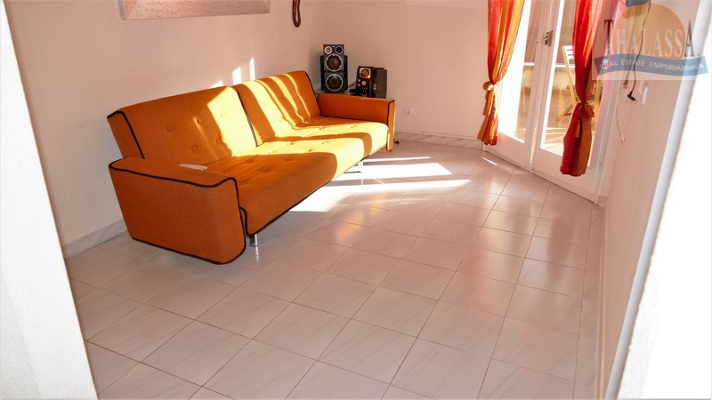Apartment with big terrace - Club Nautic area - Living room