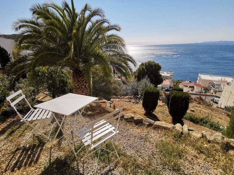 Apartment with sea view in Roses-Canyelles - Terrace