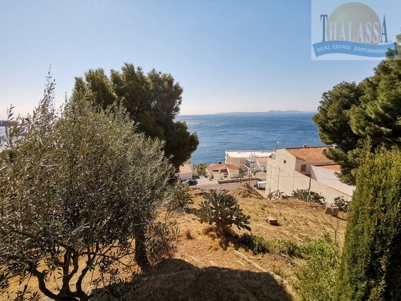 Apartment with sea view in Roses-Canyelles - View from the terrace