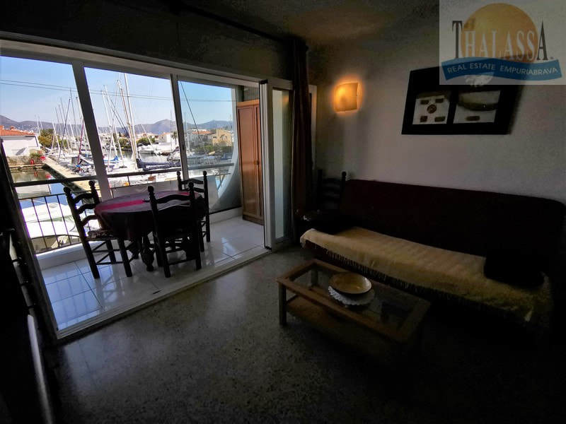 Flat with canal view - Salins area - View from the terrace