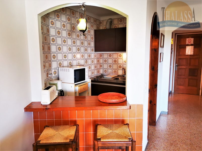 Flat with sea view - Salins area - Entrance hall