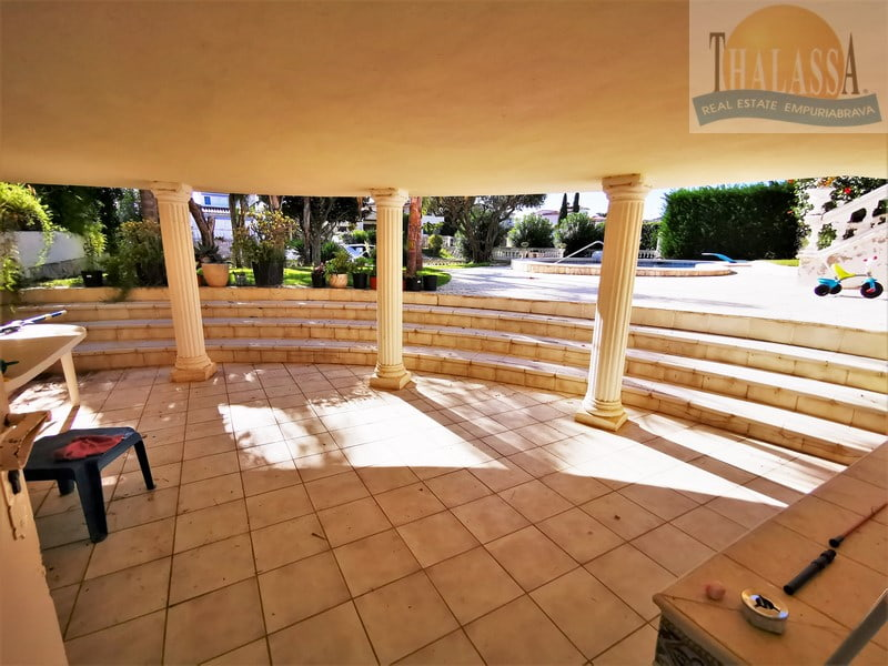 House with mooring of 25m - Noguera area - Terrace