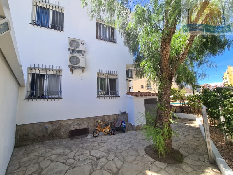 Townhouse in the center of Roses-Santa Margarita with mooring - Terace